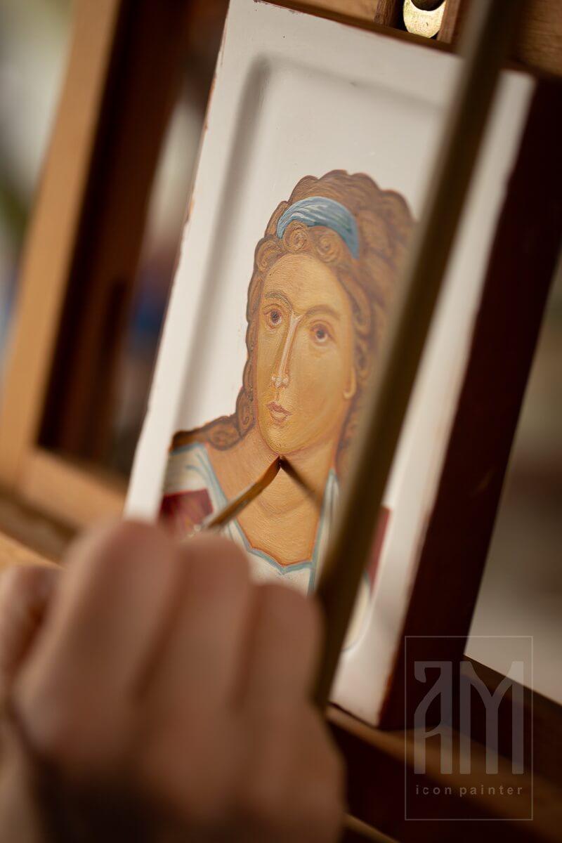 Ana Maljevic - Ikone sa blagoslovom Crkve - Izrada ikona 28