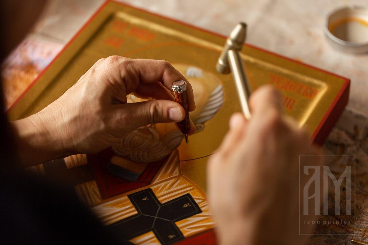 Ana Maljevic - Ikonopisac - Izrada ikona 35