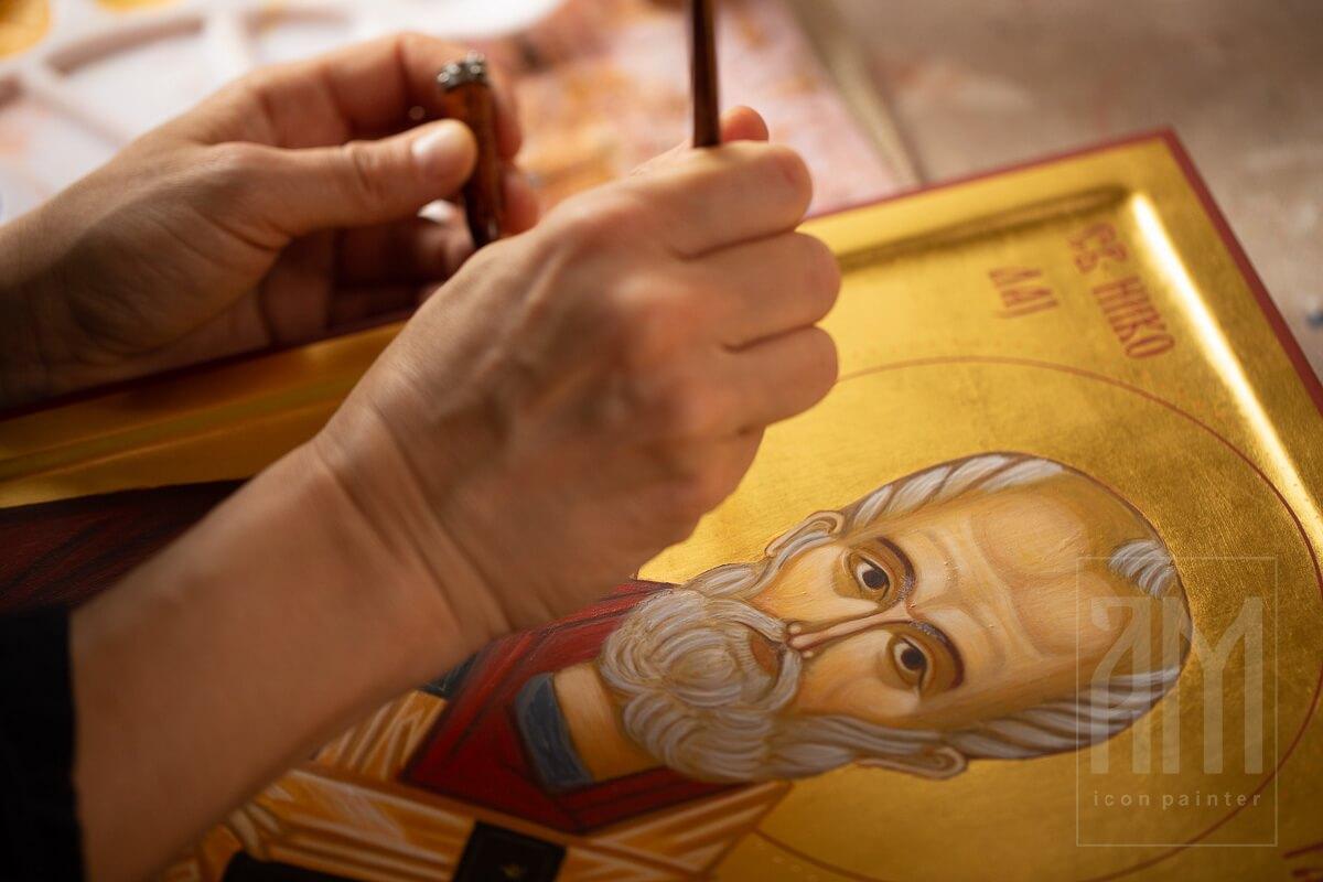 Ana Maljevic - Ikonopisac - Izrada ikona 36