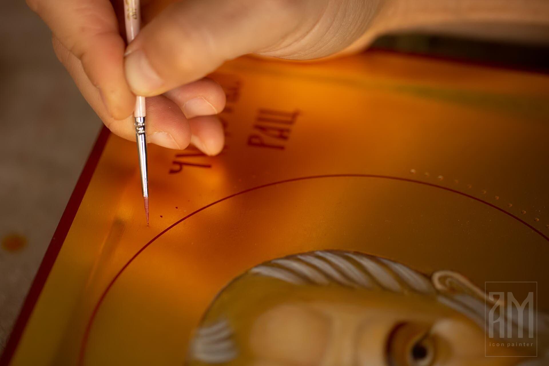 Ana Maljevic - Ikonopisac - Izrada ikona 49