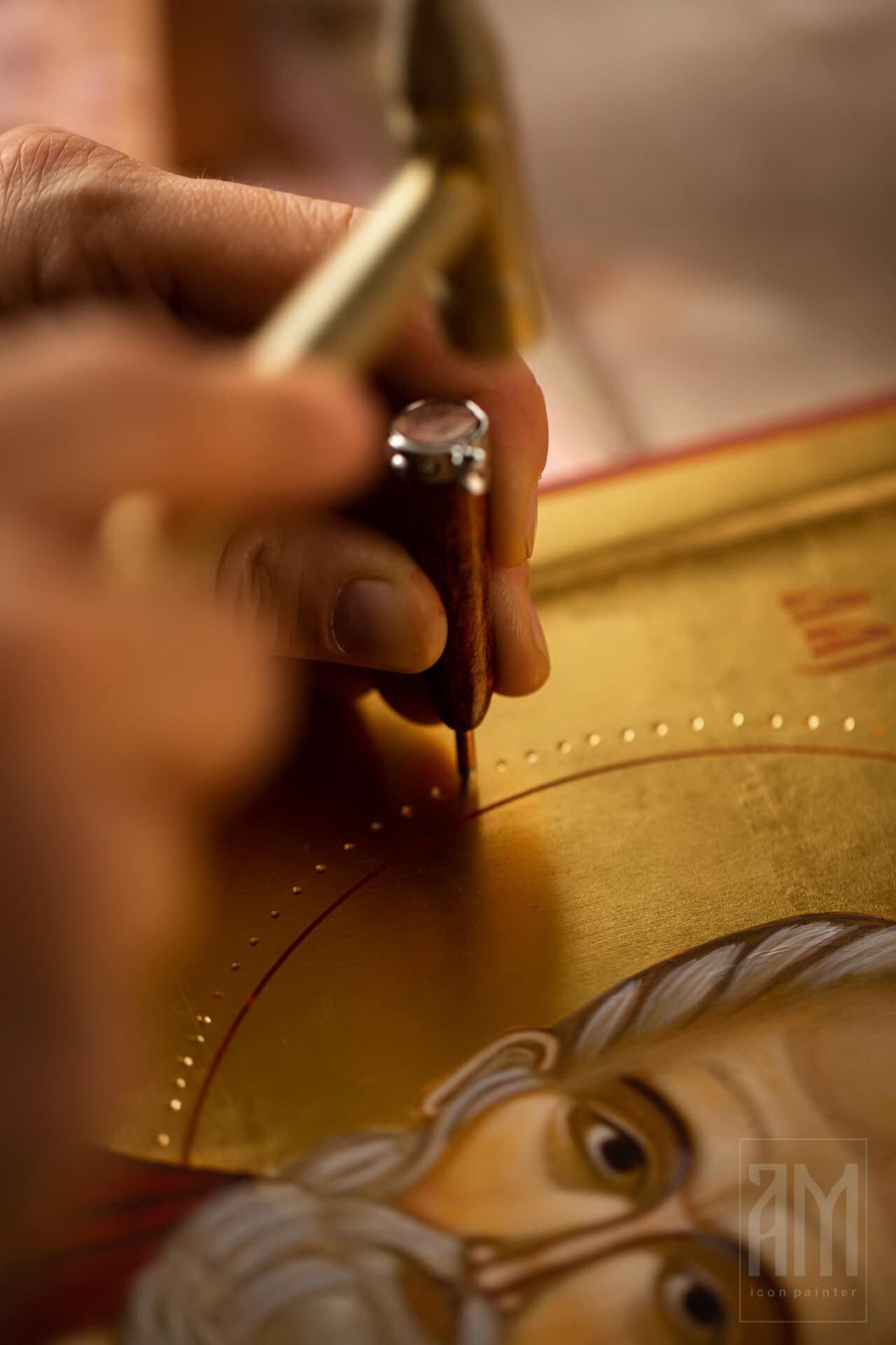 Ana Maljevic - Ikonopisac - Izrada ikona 51