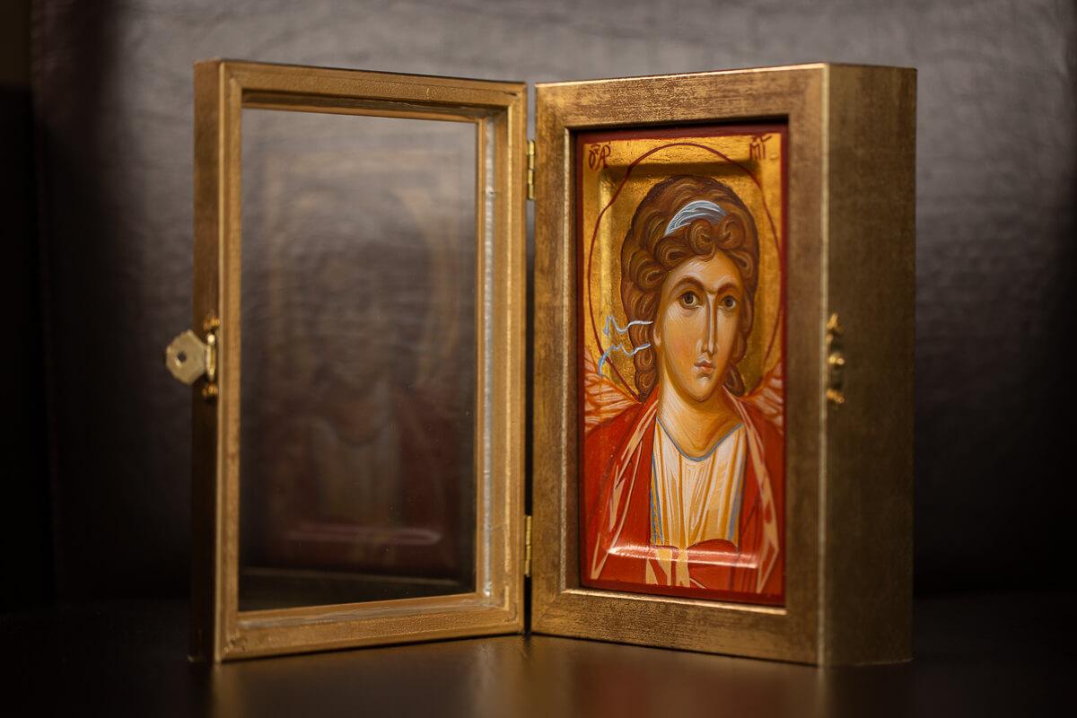 Ana Maljevic - Ikone sa blagoslovom Crkve - Arhangel Mihail 01
